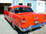 Restoration of a 1955 Chevy - Completed - Rear Drivers Side