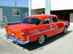 Restoration of a 1955 Chevy - Completed - Rear Passenger Side